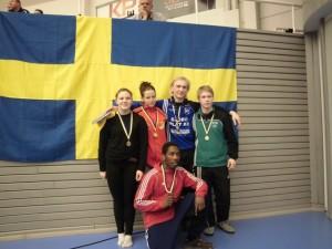 JSM Medaljörer 2013